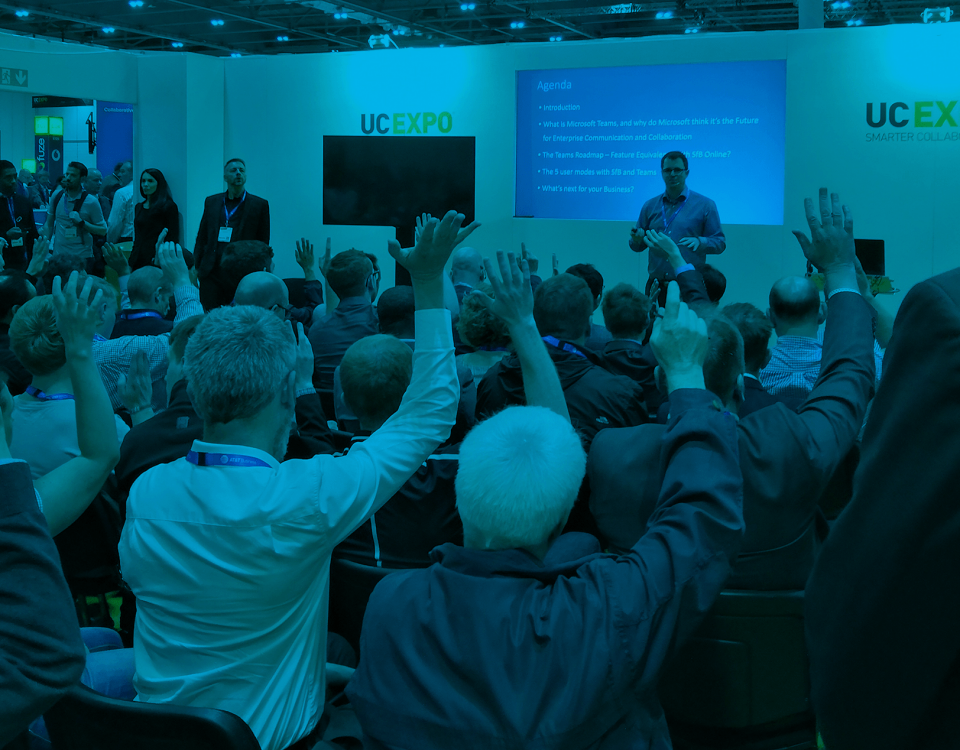 talkbase an der UC Expo 2018
